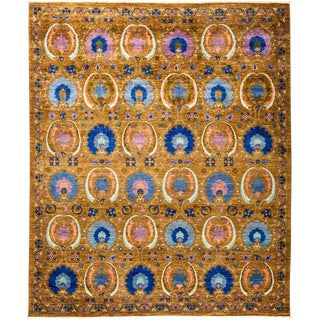 "Suzani Hand Knotted Area Rug - 8'2"" X 9'10"""