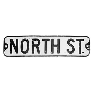 North Street Sign