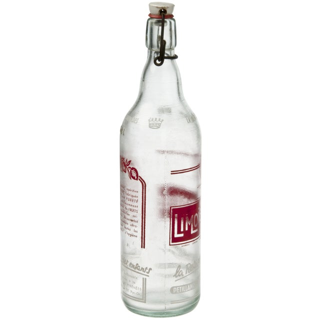 French Red Limonette Dille Bottle - Image 2 of 3