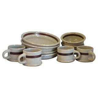 Vintage Dansk Pottery Dish Set - 10 Pieces
