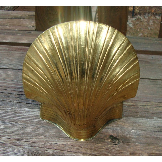 Art Deco Brass Seashell Candy Box - Image 5 of 7