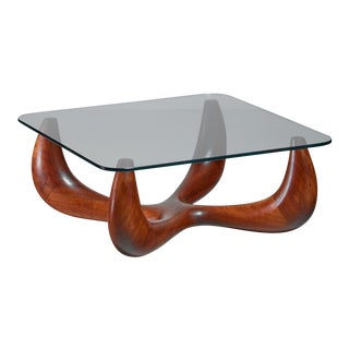 Studio crafted coffee table, USA, 1960s