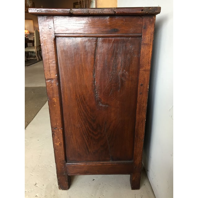Antique French Country Walnut Cabinet - Image 10 of 11