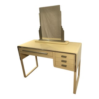 Norman Bel Geddes Art Deco Vanity Desk