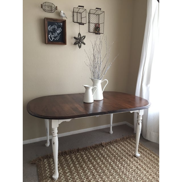 Vintage Restored Dining Table - Image 3 of 9
