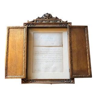 Authentic 1897 Handwritten Invite Mr. Van Nuys