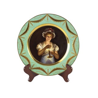 Royal Vienna Style Porcelain Cabinet Plate