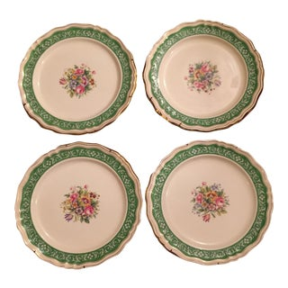 Tiffany and Co. Gold Rimmed Plates - Set of 4