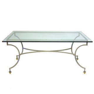 Hollywood Regency Patio Dining Table