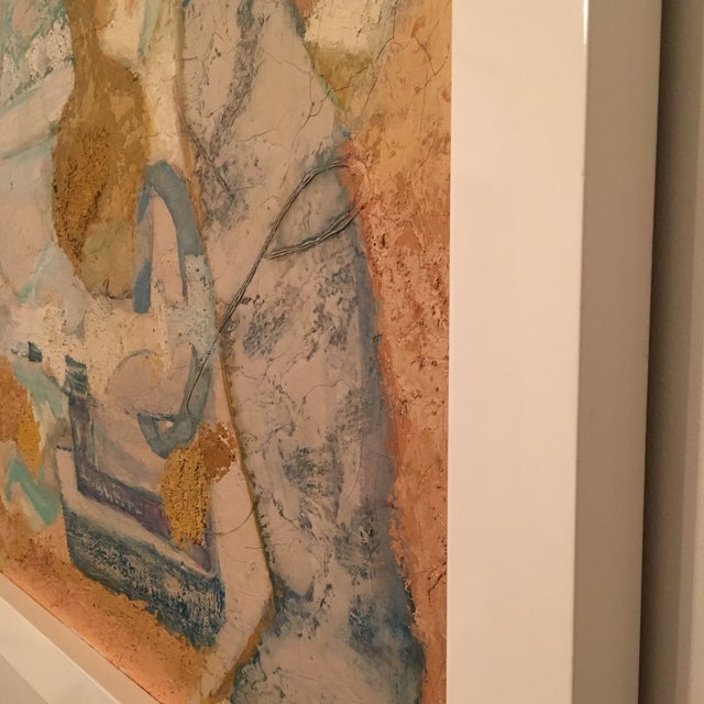 Abstract Framed Painting - Image 6 of 7