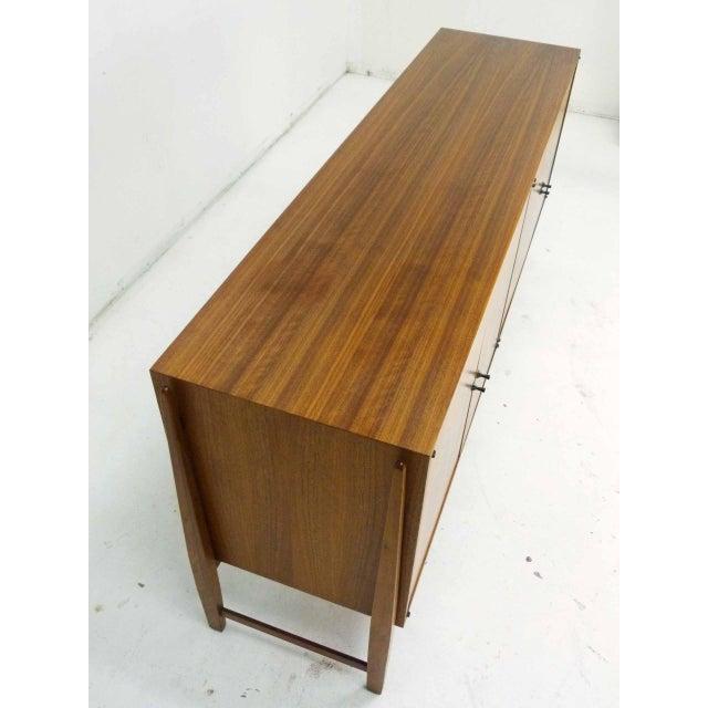 Kipp Stewart for Calvin Furniture Teak & Rosewood Inlay Sideboard - Image 10 of 11