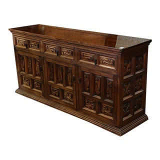 Continental Baroque Style Sideboard