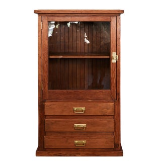 Early 20th C. Pine Cabinet
