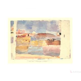"""Paul Klee """"Vor Den Toren v. Kairuan"""" Poster"""