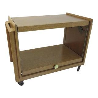 John Keal for Brown and Saltman Bar/tea Cart