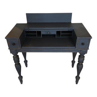 French Painted Secretary Desk