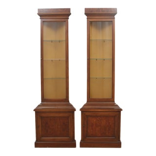 "Drexel ""Et Cetera"" Corner Cabinets, Pair"
