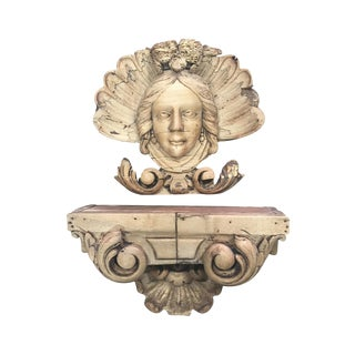 Early 19th Century English Carved Elements - A Pair
