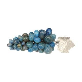 Blue Agate Stone Grapes