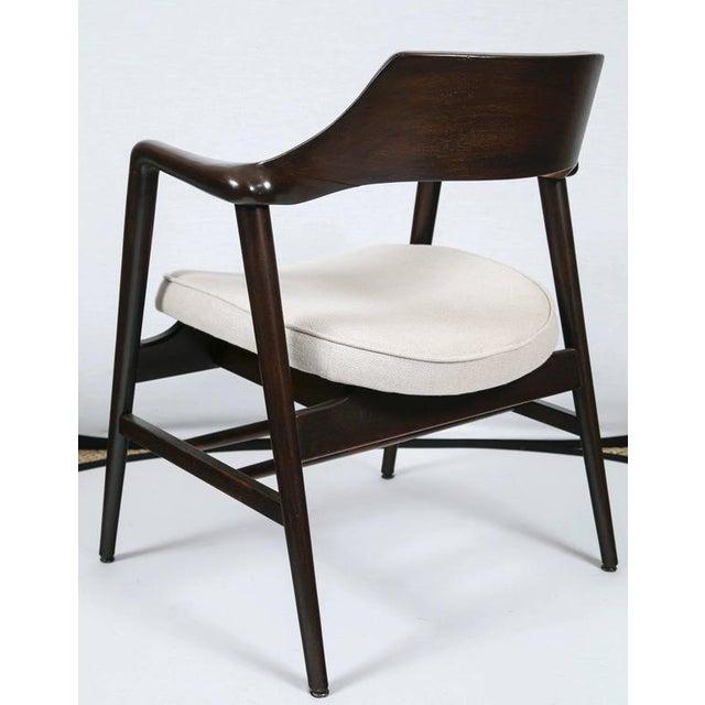 Gunlocke Wood Framed Armchair - Image 6 of 10