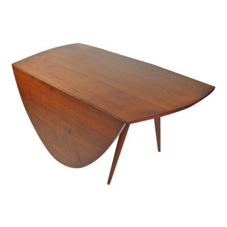 Rare Drop Leaf Table Desk by George Nakashima