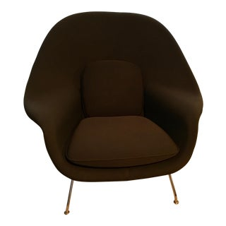 Knoll Chocolate Brown Womb Chair