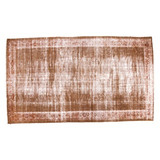 "Distressed Vintage Mahal Carpet - 7'8"" x 13'3"""