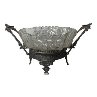Rogers & Co. Victorian Silver Centerpiece