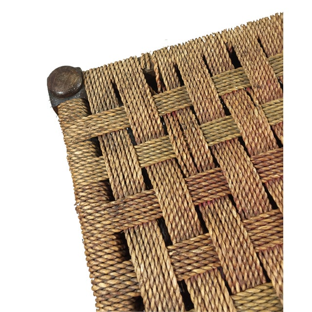 Image of Antique Barley Twist Footstool