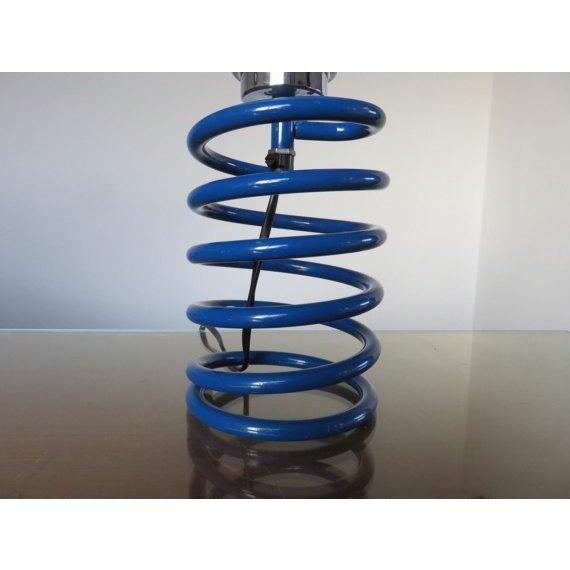Ingo Maurer Royal Blue Spring Lamp - Image 3 of 3