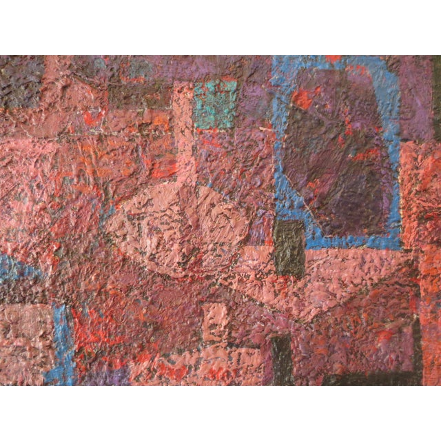 Image of 1960s Abstract by Swiss Artist, Andre' Brechet