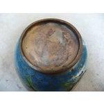 Image of Black Dragon Cloisonne Vase