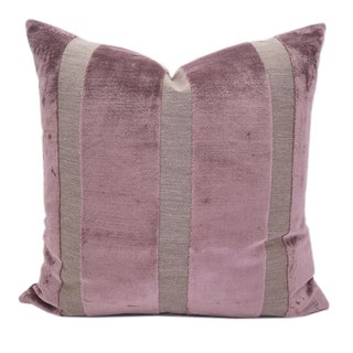 Marsala Silk Velvet High End Pillows - A Pair