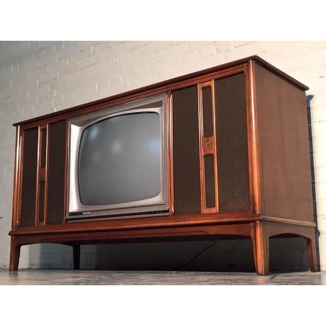 Mid-Century Television Stereo Console - Image 2 of 10