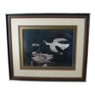 Georges Braque Print Bird of Nest with Eggs