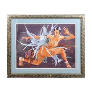 """Fabulous"" Art Deco Lithograph"