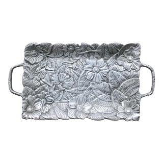 Cast Aluminum Tray With Handles