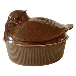 English Duck Tureen