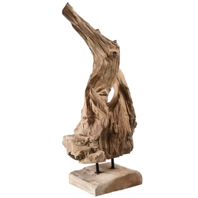 Driftwood Fragment on Stand - Image 3 of 4