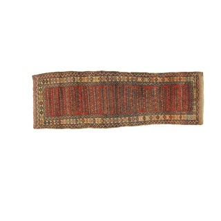 Leon Banilivi Antique Bijar Runner - 3' X 9'2""