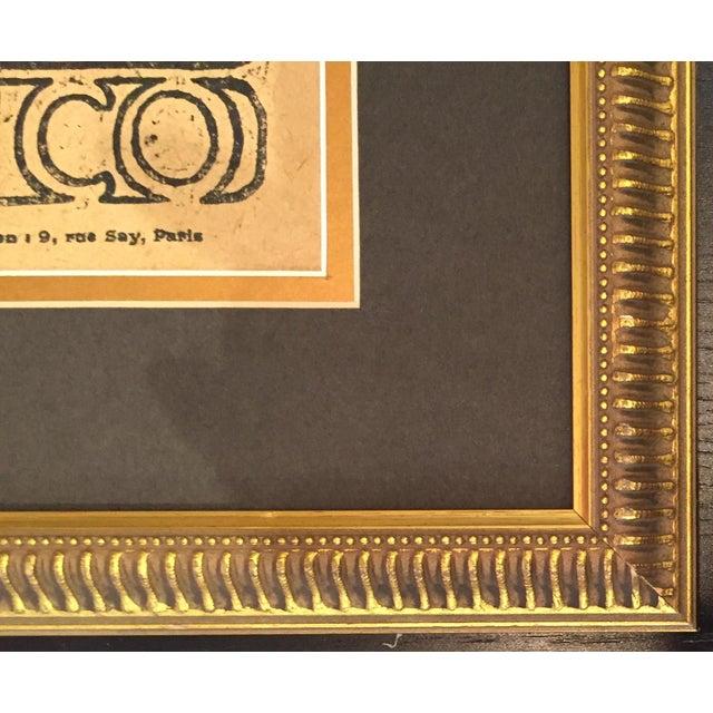 Framed 1899 Original Alphonse Mucha Cocorico Cover - Image 5 of 5
