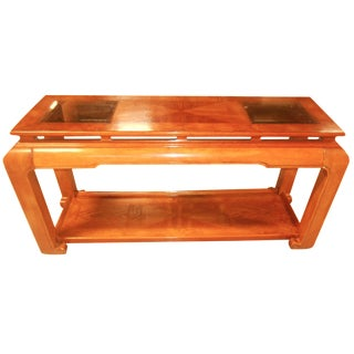 Mid-Century Mod Floating-Top Console