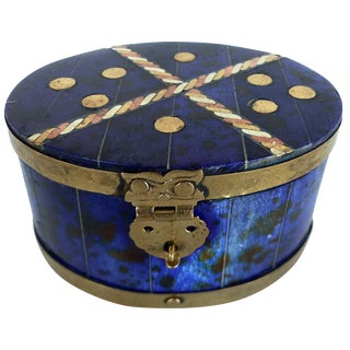 Lapis Hue Trinket Box