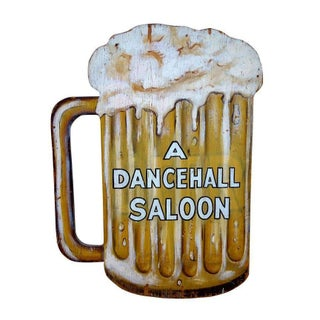 Vintage Dancehall Saloon Sign