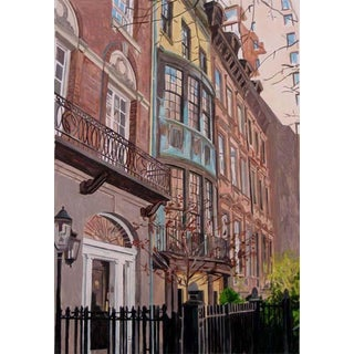 """""""Brownstones"""" Giclee Print of the Painting"""