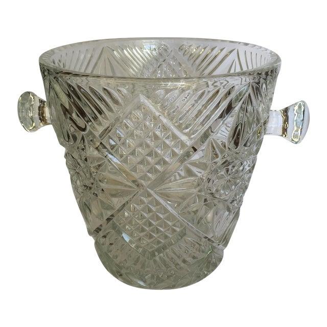 Cut Glass Crystal Ice Bucket - Image 1 of 8