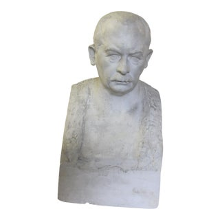 1937 Plaster Bust From Brussels