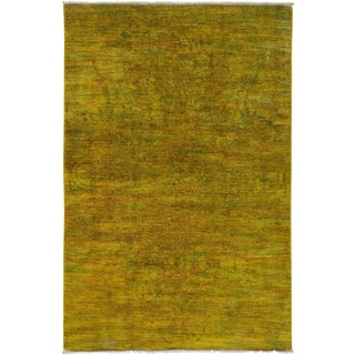 """Vibrance, Hand Knotted Area Rug - 4' 2"""" x 6' 4"""""""