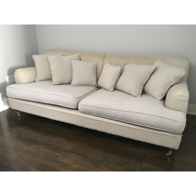 English Roll Arm Sofa: ABC Carpet&Home Irving Place English Roll Arm Sofa