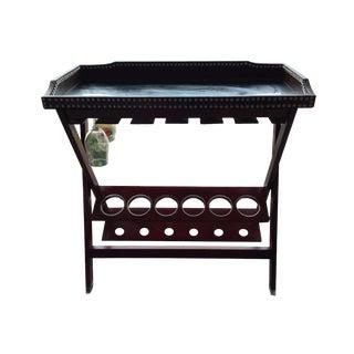 Z Gallerie-Lexington Mirrored Bar Cart